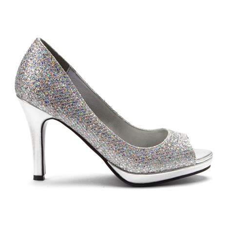 silver dress shoes for 13 womens shoes