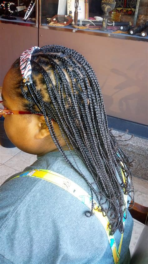 no braid weave box braids with natural hair no weave by mz reeta loc