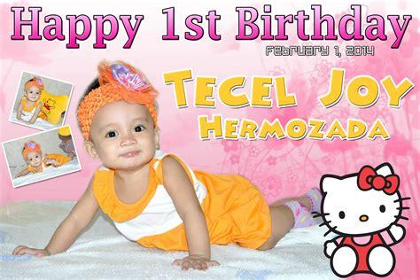 happy birthday tarp design hello kitty tarpaulin birthday pictures