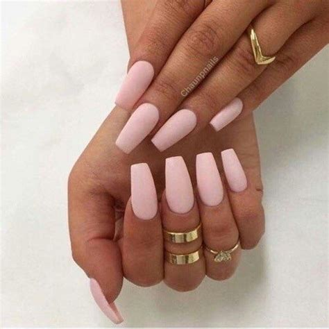 Light Pink Acrylic Nails by Top 45 Amazing Light Pink Acrylic Nails
