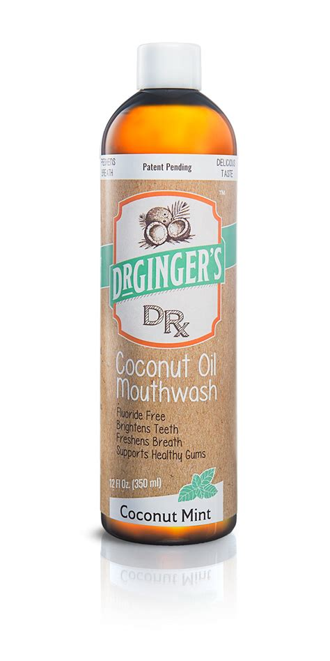amazoncom dr gingers fluoride  coconut oil pulling