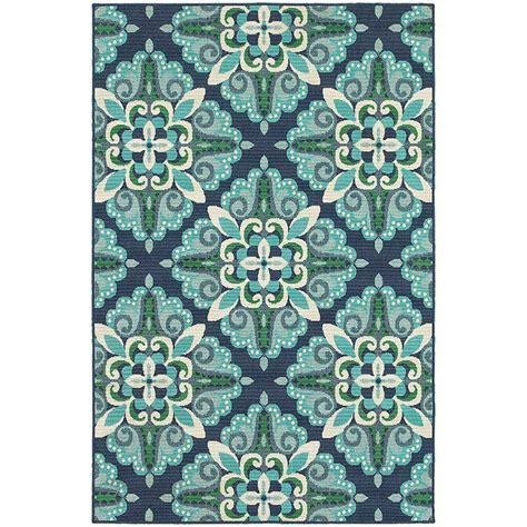 weavers outdoor rugs meridian 2206b blue green area rug by weavers