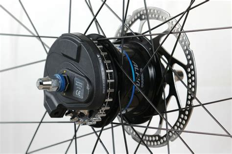 Ralliant Pin Belt Carbon di2 hub 1 with center track sprocket by gates carbon drive parts belt belt