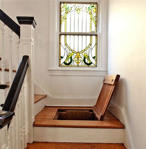 Tornado Bathroom Or Stairs Secret Trap Door In Stair Landing Stashvault
