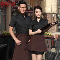 alibaba resto surabaya hotel waiter and waitress uniform summer female fast food