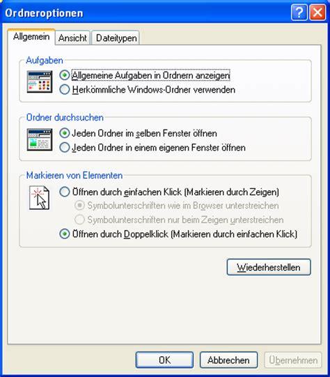 tutorial php with xp tutorial dateiendungen in windows xp im explorer anzeigen