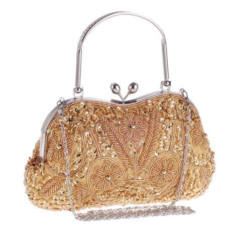 Handmade Beaded Bag - handmade beaded clutch bag classic handbag