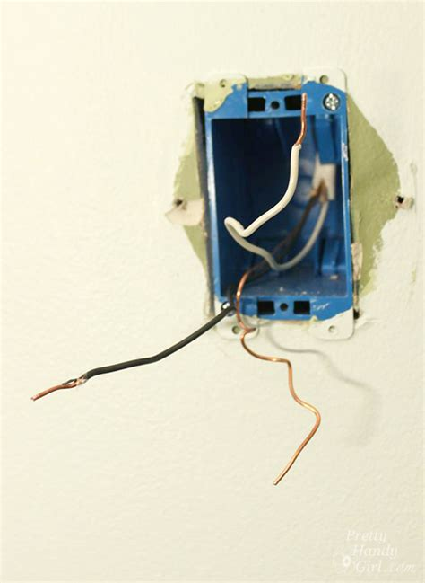Electrical Box For Wall Sconce How To Install A Wall Sconce Light Fixture