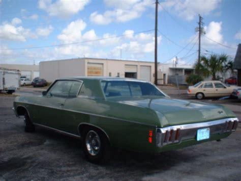 1970 2 door impala 1970 chevrolet impala custom 2 door hardtop 20736