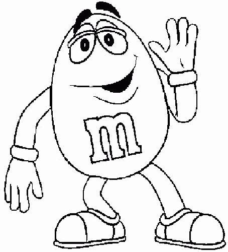 M M Coloring Pages m and m coloring pages coloringpagesabc