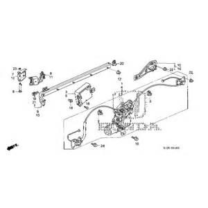 Honda Odyssey Sliding Door Parts Honda Odyssey Sliding Door Center Roller Assembly