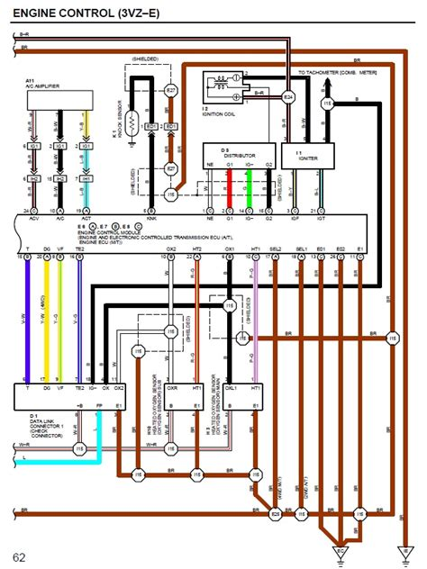 95 toyota 4runner ecu wiring diagram 95 cadillac