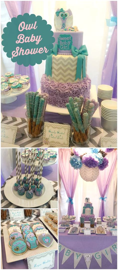 baby shower colors for owl baby shower quot h s baby shower quot teal color