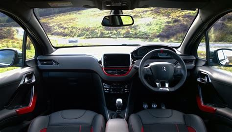 peugeot 208 gti inside peugeot 208 gti review test drives atthelights com