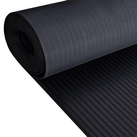 Anti Slip Floor Mats - vidaxl co uk rubber floor mat anti slip 2 x 1 m broad ribbed