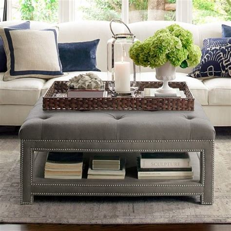 how to decorate an ottoman best 25 ottoman tray ideas on coffee table