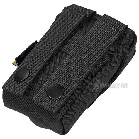 molle pouches black flyye icomm pouch molle black
