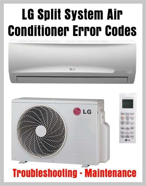 ac unit fan not spinning lg system air conditioner error codes autos post