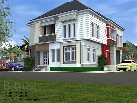5 bedroom duplex design contemporary architectural designs by b trust studios 5