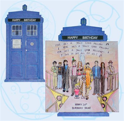doctor who birthday card template tardis birthday card template invitations ideas