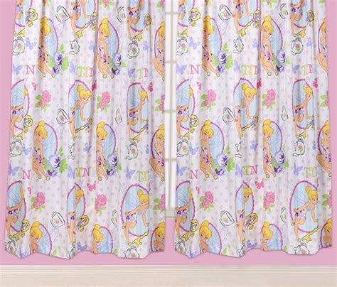 tinkerbell curtains disney fairies tinkerbell cherish curtains 66 quot x 54 quot or 66