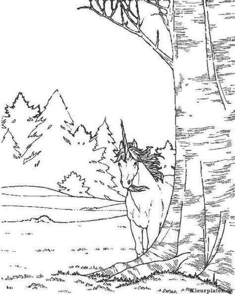 Eenhoorn kleurplaat 157325 kleurplaat