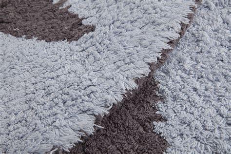 teppich bio biokinder wende teppich rund mit blau grau aus