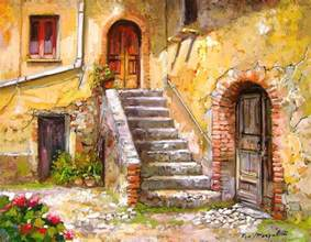 Spanish Mediterranean House Plans old house calabria italy painting by francesco mangialardi