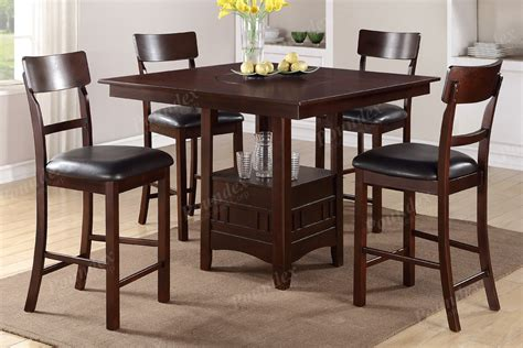 Counter High Dining Room Sets High Chair Counter Height Chairs Dining Room Furniture Showroom Categories Poundex