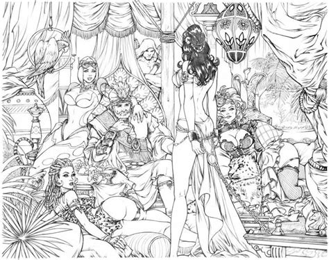 very big colouring and 140956651x very exciting new series for big dog ink i ve begun pencilling this is a wee glimpse at one of