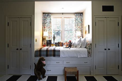 window seat bed window seat bed cottage boy s room kristen panitch