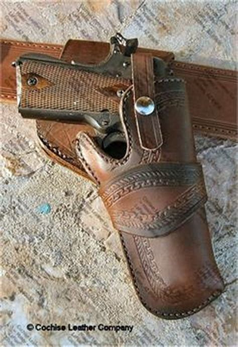 cochise leather custom colt 1911 crossdraw holster by cochise leather co