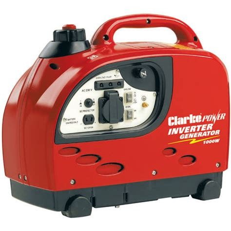 Small Home Generators Uk Clarke Ig1000 1kw Inverter Generator Machine Mart