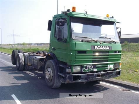Scania Truck Cabin by Scania P 113 Ml 6x2 Cabin Chassis 1992 Chassis Truck