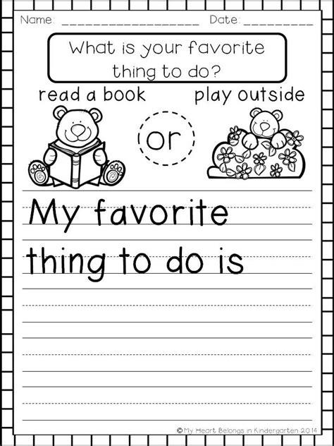 sle of kindergarten writing blank worksheet for kindergarten opinion writing blank best free printable worksheets