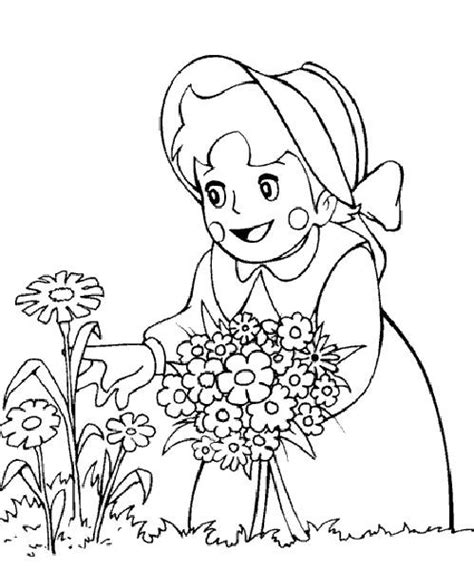 Picture Coloring Pages Coloring Pages Heidi Picture 3 by Picture Coloring Pages