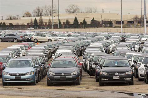 Vw Auto Diesel by Quot Autofriedhof Quot In Den Usa Wo Vw Seine Schummel Diesel