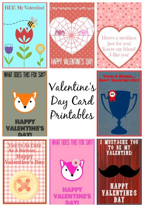 printable valentines card for daughter free valentine s day card printables family fun journal