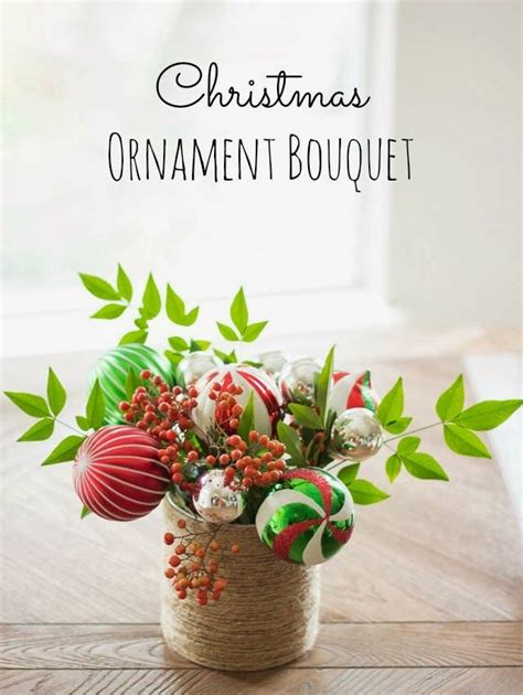 christmas ornament bouquet pictures photos and images