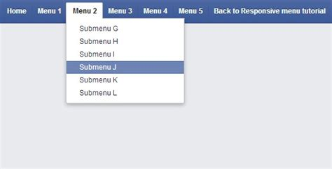 Css Menu Bar Tutorial | 13 css3 navigation menu tutorials for mobile web