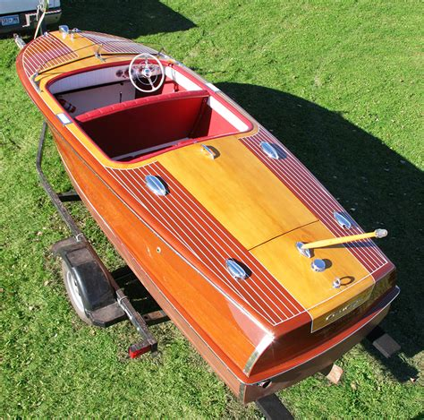 chris craft boats good chris craft 18 ft riviera runabout for sale 1950