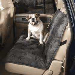 Car Seat Covers For Dogs Ebay Guardian Gear Gray Pawprint Pet Car Seat Cover New Ebay