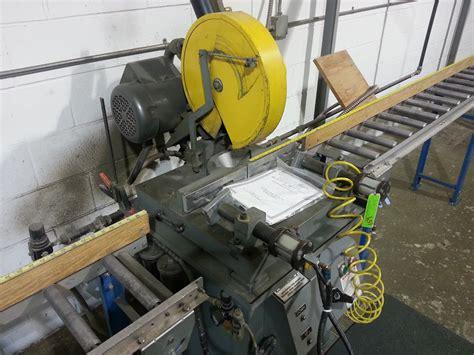 Kalamazoo Hsm 14 Non Ferrous Semi Automatic Carbide Saw
