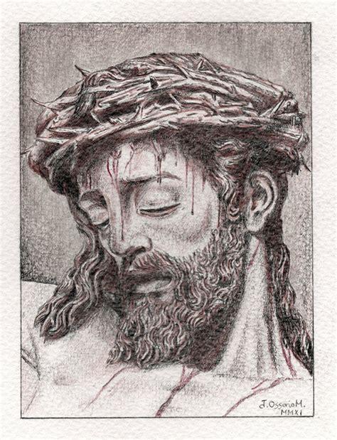 imagenes de jesus hecho a lapiz dibujos a l 225 piz de cristo dibujos a lapiz
