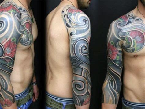 colorful half sleeve tattoos for men top 100 best sleeve tattoos for cool designs and ideas