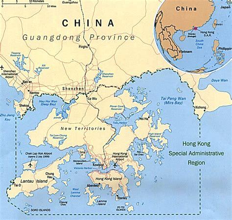 hong kong on the world map map of hong kong hong kong island map hong kong