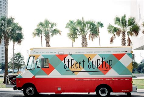 Food Truck Brand Design | street surfer food truck interview ta bay florida