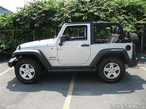 Jeep Sport Lease Jeep Wrangler Sport Car Lease