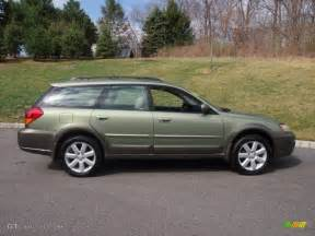 Subaru Green Willow Green Opalescent 2006 Subaru Outback 2 5i Limited