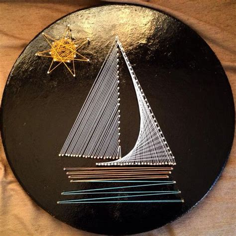 String Sailboat - string boats and sailboats on